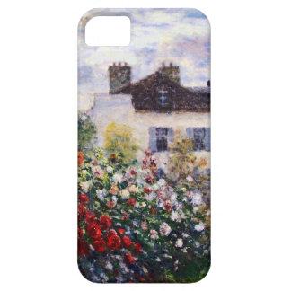 Um canto do jardim com as dálias por Monet Capa Barely There Para iPhone 5