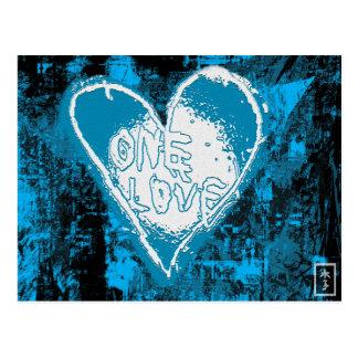 Um cartão do amor