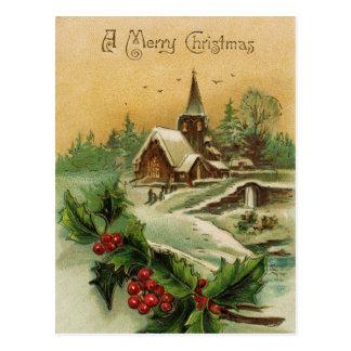 Um cartão do Feliz Natal