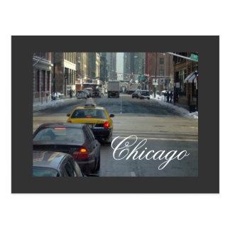 Um cartão do inverno de Chicago