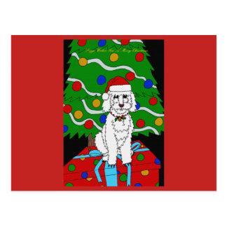 Um cartão do Natal de Doggo