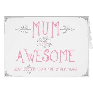 Um cartão para a mãe