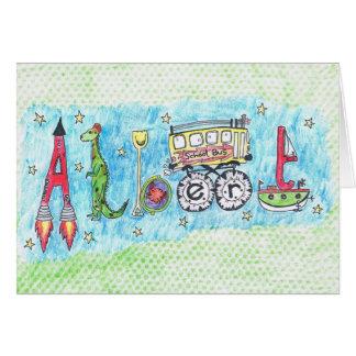 Um cartão para Albert