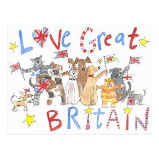 Um cartão patriótico maravilhoso