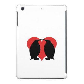 Um casal do pinguim capa para iPad mini retina