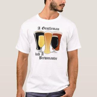 Um cavalheiro e uma camisa de Brewmaster T