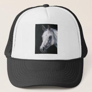 Um cavalo branco boné