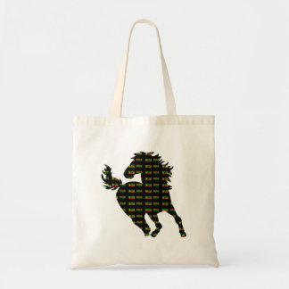Um cavalo da reggae do amor bolsa tote