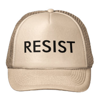 Um chapéu que diga resiste boné