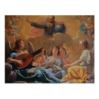 Um concerto dos anjos cartão postal