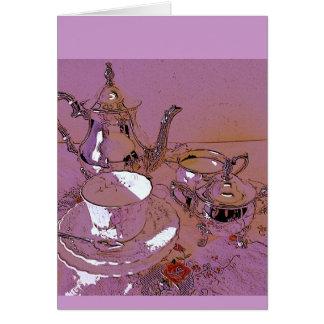 Um convite ao chá alto