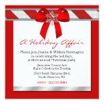 Um convite da festa de Natal do caso do feriado
