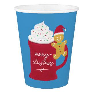 Um copo do Feliz Natal