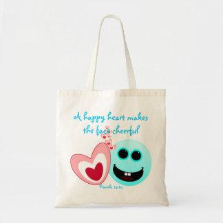 Um coração feliz - 15:13 dos provérbio bolsa para compra