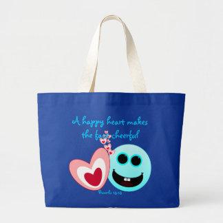 Um coração feliz - 15:13 NIV dos provérbio Bolsa Para Compras