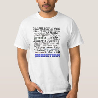 Um cristão é diferente tshirt