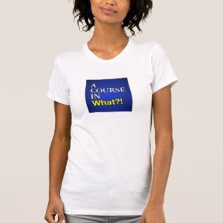 Um curso em que t-shirt