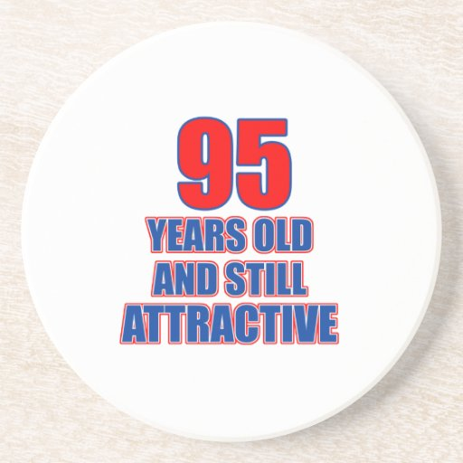 um design de 95 aniversários porta-copos