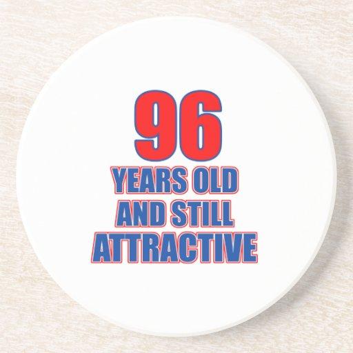 um design de 96 aniversários porta copo
