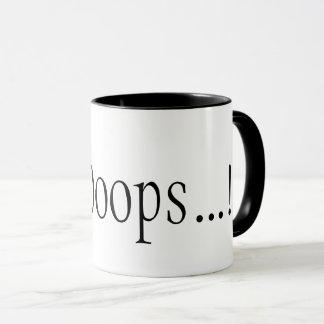 Um DevOops…! caneca de café para codificadores sem