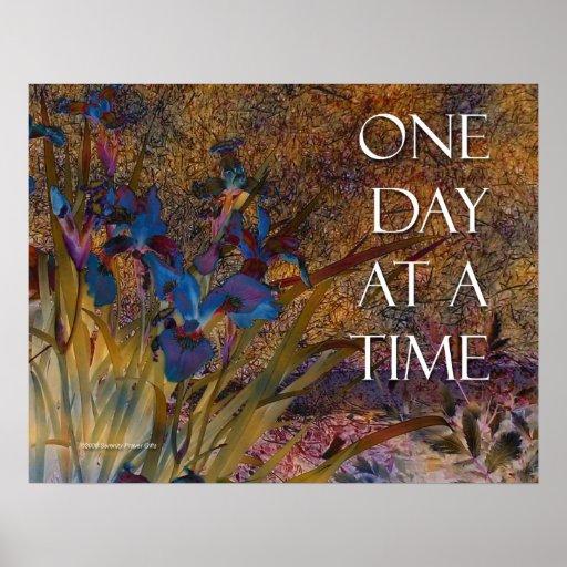 Um dia de cada vez torna iridescente o poster