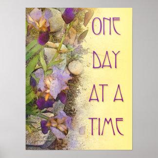 Um dia de íris de cada vez (ODAT) Impressão