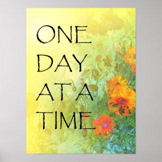 Um dia de Lilacs & papoilas de cada vez (ODAT) Posteres