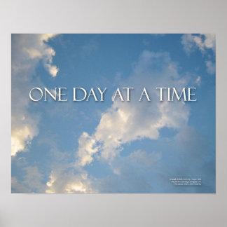 Um dia em um poster do tempo