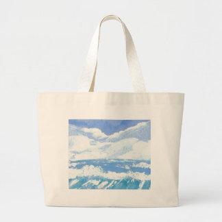 Um dia produtos da arte no mar - oceano de Cricket Bolsa Para Compras