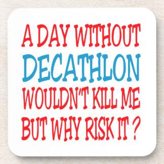 Um dia sem Decathlon não me mataria Porta Bebida