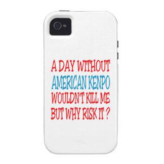 Um dia sem Kenpo. americano