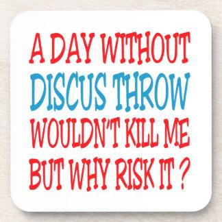 Um dia sem lance de disco não me mataria porta copo
