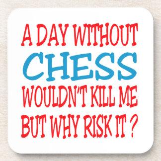 Um dia sem xadrez não me mataria porta bebidas