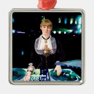 Um DJ no Folies-Bergère Ornamento De Metal