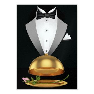 Um evento formal elegante - SRF Convite 12.7 X 17.78cm