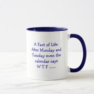 Um facto da vida - caneca