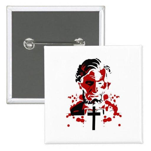 Um Herói-Abraham sangrento Lincoln Botons