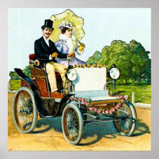 Um homem e sua senhora em uma movimentação de domi poster