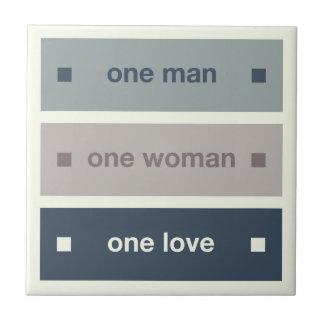 Um homem uma mulher um amor azulejos