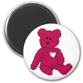 um ímã do urso de ursinho ímã redondo 5.08cm