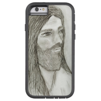 Um Jesus solene Capa Tough Xtreme Para iPhone 6