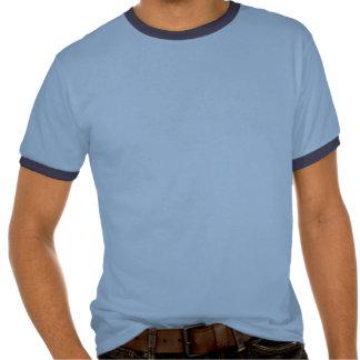 Um leão na camisa de América t Camisetas