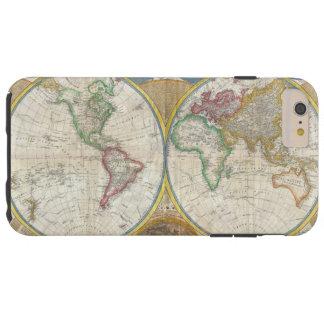 Um mapa geral do mundo por Samuel Dunn 1794 Capa Tough Para iPhone 6 Plus
