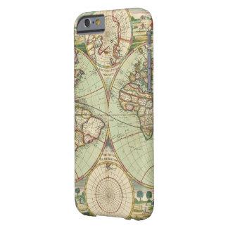 Um mapp novo do mundo - atlas capa barely there para iPhone 6