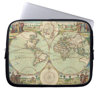 Um mapp novo do mundo - atlas sleeve para laptop