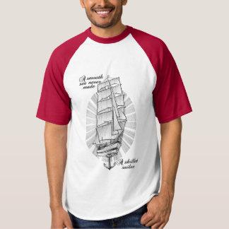 Um mar liso nunca fez um marinheiro especializado camiseta