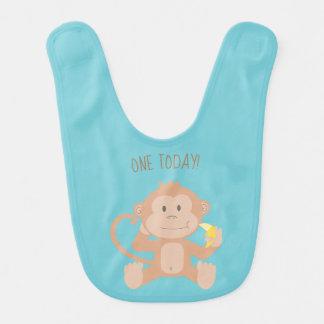 Um Monkey hoje o babador