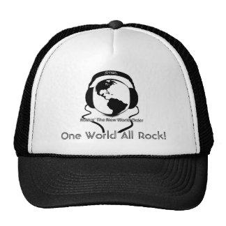 Um mundo toda a rocha! boné