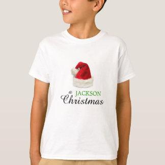 Um Natal de JACKSON Camiseta