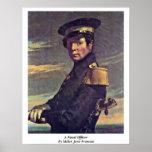 Um oficial naval pelo painço (ii) Jean-Francois Posters